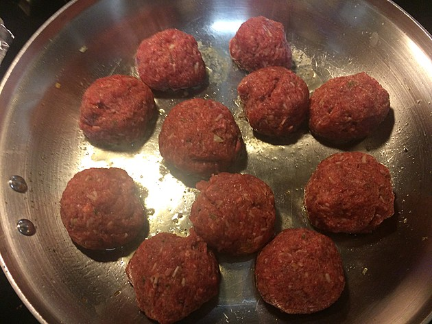 My homemade meatballs!  credit by Deb Turner
