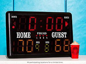 Wendy's NCAA Scoreboard