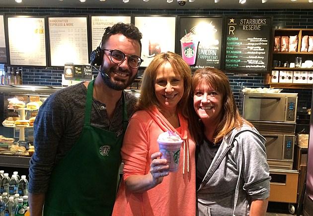 Starbucks Newburgh, Jarod Littlejohn, Deb Turner, Cathy Travers