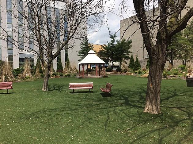 Downtown Evansville Park; credit by Deb Turner