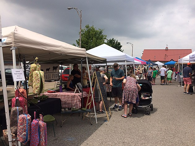 Historic Newburgh Farmer's Market, credit by Deb Turner