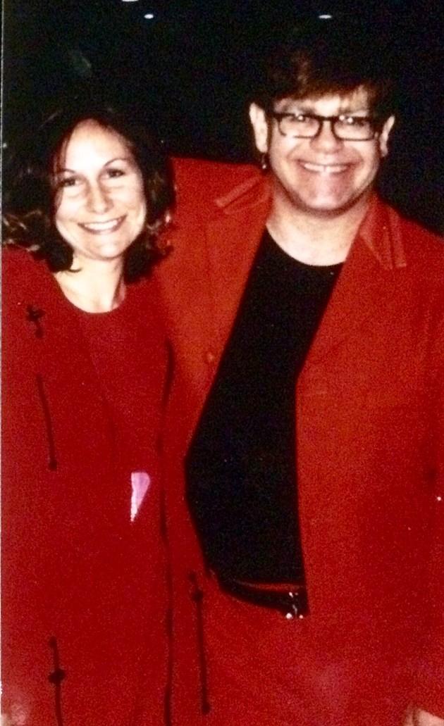 Deb Turner and Elton John