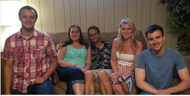 Mike's kids:  Evan, Emily, Ashley, Alex; credit by Deb Turner