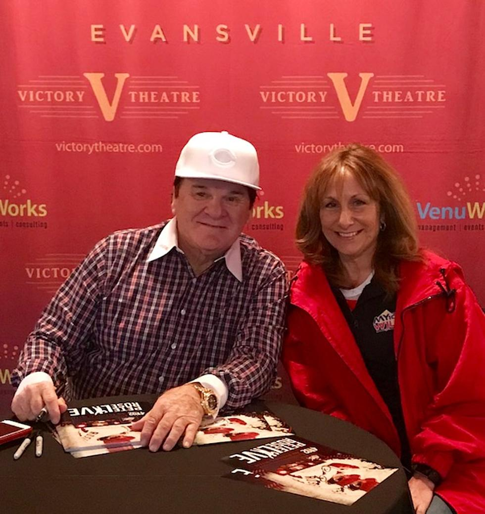 4192 An Evening With Pete Rose Live Was Inspirational And Funny
